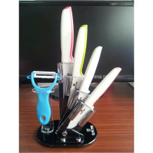6PCS Ceramic Kitchen Knife Set
