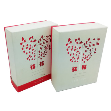 Luxury apparel paper gift boxes