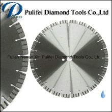 Turbo Wave Segment Diamond Cuting Disco Granite Concrete Asphalt Brick Uso general