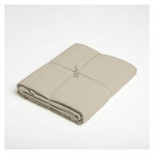 Natural washed Linen flat sheet