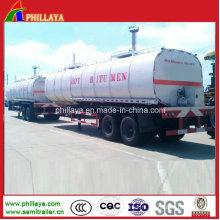 Semi-remorque de réservoir de transport d'asphalte (38m3) (PLY9525CXX)