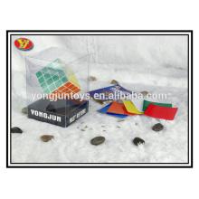 YongJun plastique 4x4 carré magique cube carré boîte d'affichage