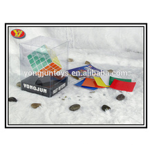 YongJun plastic 4x4 magic square cube square display box