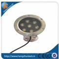Aluminium + Edelstahl 201 7w rgb LED-Projektorlampe mit hohem Beweis