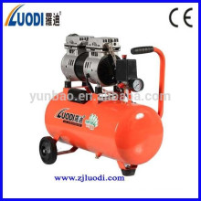 Compresor de aire dental sin aceite silencioso de alta calidad 24L 750W