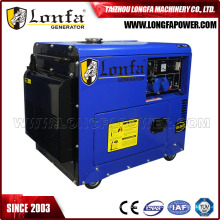6kw Single Phase Air Cooled Silent Diesel Generator Genset