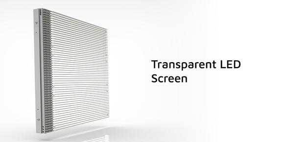 Transparent LED Curtain Display