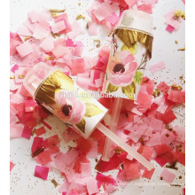 Pink Girl Gender Reveal Party Push Pop Confetti