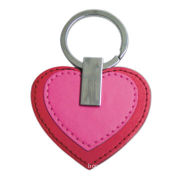 PU Leather Keychain, Fashionable for Decoration and Collection, Customized Logos WelcomedNew