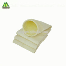 Acrylic dust filter bag for pulse jet bag house