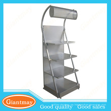 con luces venta al por mayor producto cosmético pantalla stand estante unidad