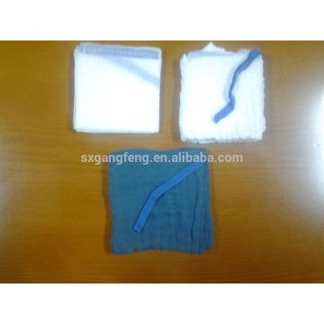 Hisopos abdominales para uso quirúrgico