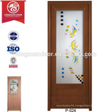 Factory Plastic UPVC Frosted Glass Doors for Toilet or Bathroom or Kitchen