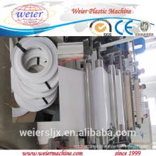 горячего тиснения, три цвета печати край группа экструдер ПВХ, ПВХ кромки машина, ПВХ кромки полосы производственной линии