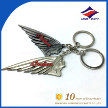 LZY Custom Factory Direct Brand Company Name Logo Keychain