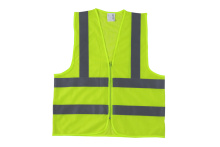 high visibility reflective vest with closure