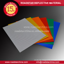 Glassbeads high visibility reflective sheeting for traffic control devices
