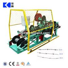 Alta Qualidade Galvanizado ou PVC Revestido Melhor Preço Máquina De Arame Farpado