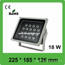 3 years warranty CE&ROHS AC85v-265v waterproof IP66 18W outdoor led flood light