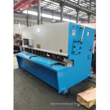 Máquina de corte e corte de feixe de balanço hidráulico QC12k CNC