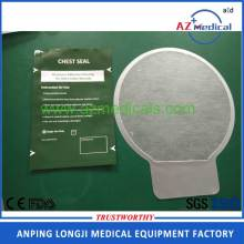 Occlusive Dressing Thorax Non-Vented Chest Seals