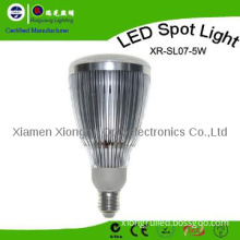 Sale! High Lumen 5W Spot Light with E27 Aluminium Material CE SAA RoHS