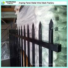 Garten-Sicherheitspulver-Beschichtung Zier-Schmiedeeisen-Zaun