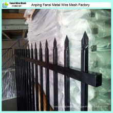 Garden Security Powder Coating Ornamental Wrought Iron Fence