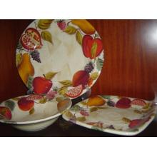 Keramik Hand Malerei Teller Set
