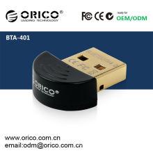 ORICO BTA-401 Adaptador Bluetooth USB CSR8510 Chip - Versión 4.0 (la más reciente versión Bluetooth disponible), adaptador USB de baja energía