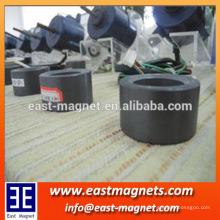 Radial 16 pólos de ferrite / anel de ímã de neodímio para condicionador de ar de freqüência variável rotor / inversor de ar condicionado