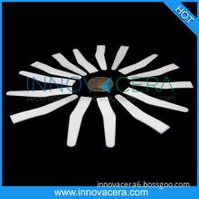 ZrO2  0.3-0.8mm Thickness Zirconia  Ceramic  Spatule Plate Part For Dental Enginerring/Innovacera