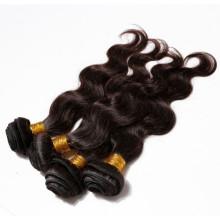 Guangzhou Factory 100% sin procesar grado 5a cabello peruano de la Virgen
