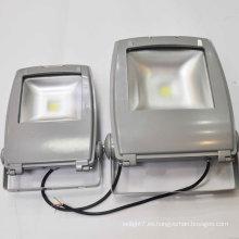 Alta potencia AC 85-265V 50-60Hz 50.000 horas CE & ROHS IP65 al aire libre impermeable 5000lm DMX control RGB LED de la luz de inundación 50W