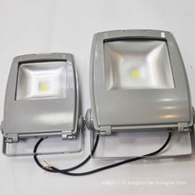 High Power AC 85-265V 50-60Hz 50,000hours CE & ROHS Outdoor IP65 étanche 5000lm DMX contrôle RGB LED Flood Light 50W