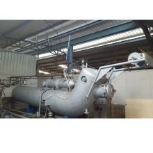 Máquina de teñido de telas textiles de alta temperatura de doble flujo