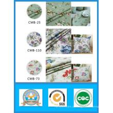 Hing Qualidade 100% Algodão Impresso Tecido Da Lona Da Flor em Estoque de Peso 180GSM Largura 150 cm