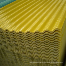 GFP-Daylighting-Platten Glasfaser-verstärkte Plastikblatt FRP-Wellblech