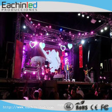 Stage LED Video Wall For Concert With LED Video Wall Processor