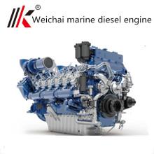 Рыбацкая лодка 600hp стационарный морской дизельный двигатель с коробкой передач для продажи из Китая поставщик