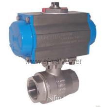 Pneumatic ball valve(2 piece)