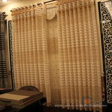Tela de la cortina del cordón del bordado del diseño del nuevo modelo para la venta