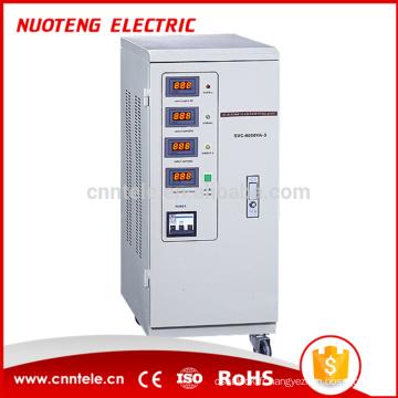 Stabilisateur de tension de réfrigérateur triphasé à affichage LED SVC pour pompe à eau