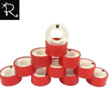 Fábrica al por mayor de buena calidad Jumbo rollo PTFE Tubería de hilo de rosca de cinta cinta de teflón para la India