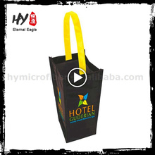 Novo saco de compras de tecido não tecido de laminação fashional com alta qualidade