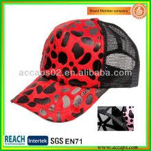 Chapeau de camionneur imprimé Leopard TC-2101