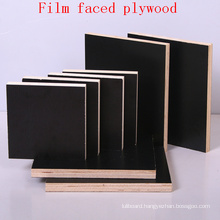 Poplar Core Black Film Faced Plywood/Marine Plywood/Shuttering Plywood/Waterproof Plywood