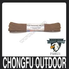 550 Strong Paracord Rope Параккорд высокого качества для рождественского браслета выживания паракорд