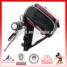 PAD folding bicycle handlebar bag Cycling MTB Bike Bicycle bag Frame Front Tube Bag Bicycle Accessories