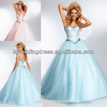 HE2089 All over beaded bodice sweetheart neck sparkly beads sequins top tulle lace up back party dress prom ball gown dresses